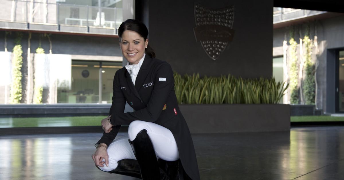 Kristina Sprehe w siedzibie Animo Italia